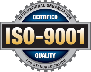 ISO 9001 Certification Stamp